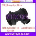 Новый массового расхода воздуха Сенсор использовать OE № 0280217115  A0000940948  525428 для Mercedes-Benz