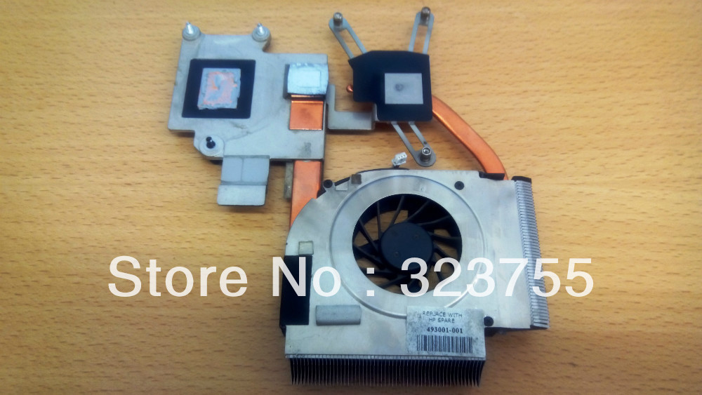 original for Original HP Pavilion DV5-1000 DV5 DV5T DV5T-1000 series dv5-1150ec cpu fan heatsink 493001-001,free shipping 574680 001 1gb system board fit hp pavilion dv7 3089nr dv7 3000 series notebook pc motherboard 100% working