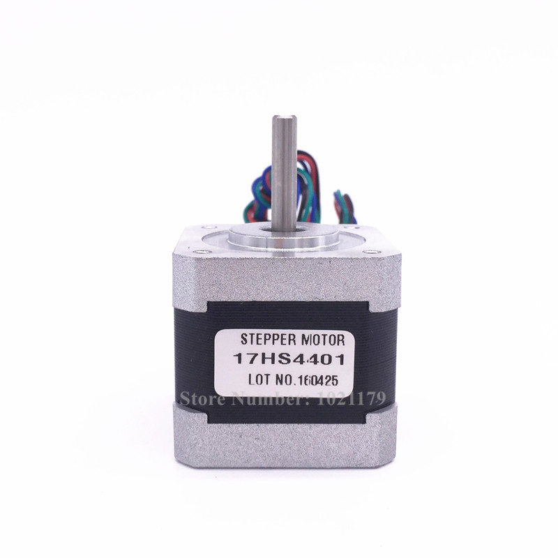 1PCS NEMA 17HS4401 stepper motor 4-lead 40mm 1.7A NEMA 17 Motor 42BYGH 42 Motor For CNC and 3D printer цена