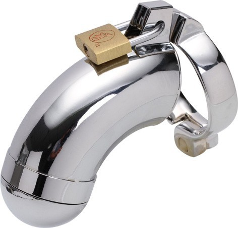 Hot Sale Metal Cock Ring Male Chastity Belt Ball Stretcher Penis Rings Stainless Steel Male Chastity Devices Sex Products 4