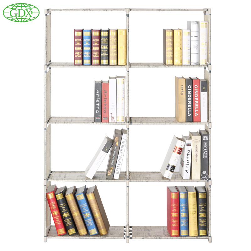 GDX 2pcs In 1 Lot Hot Multi Function Bookshelf Non Woven Cabinets Foldable  Cabinets Display Rack Bookcase Live Room Furniture In Bookcases From  Furniture On ...