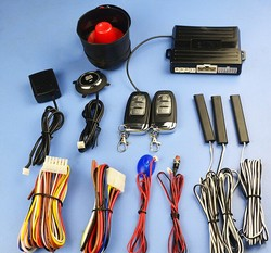 100sets PKE car alarm system,smart key remote,passive lock or unlock,engine remote start,ignition button start, keyless entry