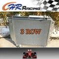 Para JEEP WRANGLER YJ / TJ 2.4L - 4.2L 87 - 06 3-ROW / TRI núcleo de radiador de alumínio de corrida