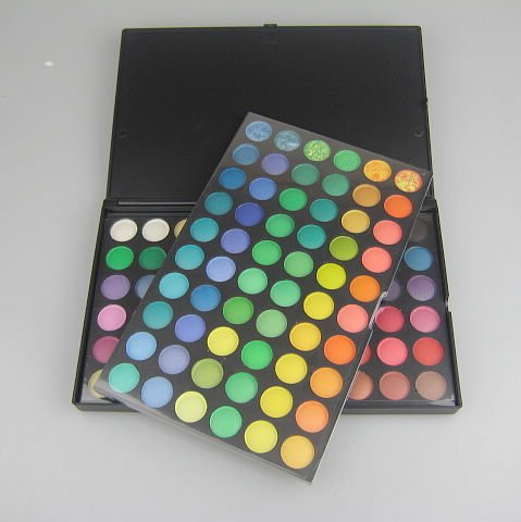 Pro 120 Matte color Eyeshadow Palette Eye Shadow Makeup Eyeshadow suite 1# 1/packet