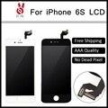 3d táctil bueno 10 unids calidad aaa para el iphone 6 s lcd Asamblea de pantalla Con Pantalla Táctil Digitalizador Reemplazo Negro Blanco Libre DHL
