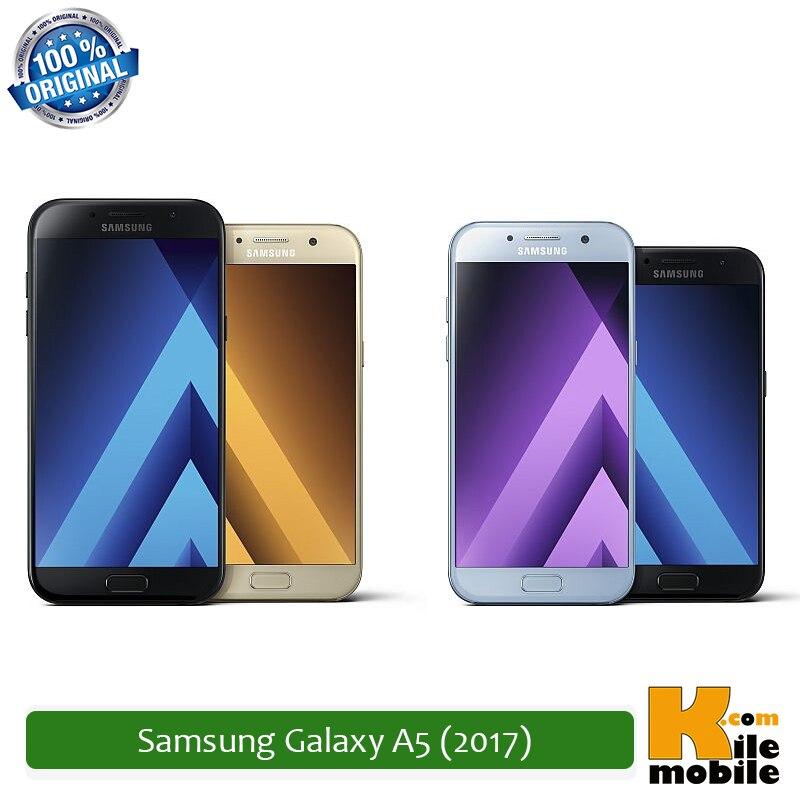 """Original Samsung Galaxy A5 (2017) 5.2"""" inches Super AMOLED Exynos 7880 Octa 32GB Rom 3GB Ram FDD LTE Smartphone"""