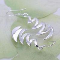 925 серебро серьги 925 чистое серебро ювелирные изделия серьги красивые серьги полумесяца луна серьги