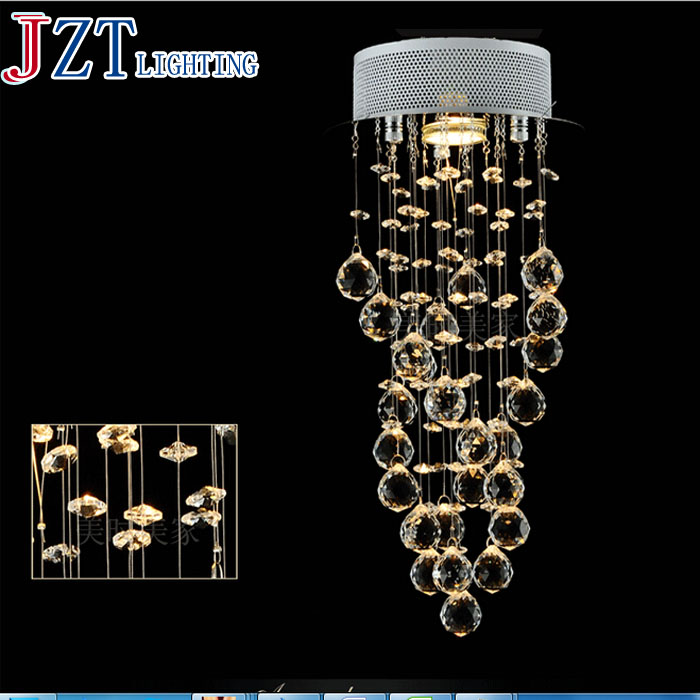 M Hot Sale LED Crystal Chandeliers Conic Pendant White Hanging Laparas de LED Luxury Crystal Lighting Banquet Lighting Fixture hot sale fashion hot sale coconut palm iron wall hanging basket