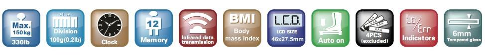 цифровые весы электронные жк-жира вес баланс с имт функция и интеллектуальный беспроводной мощность на