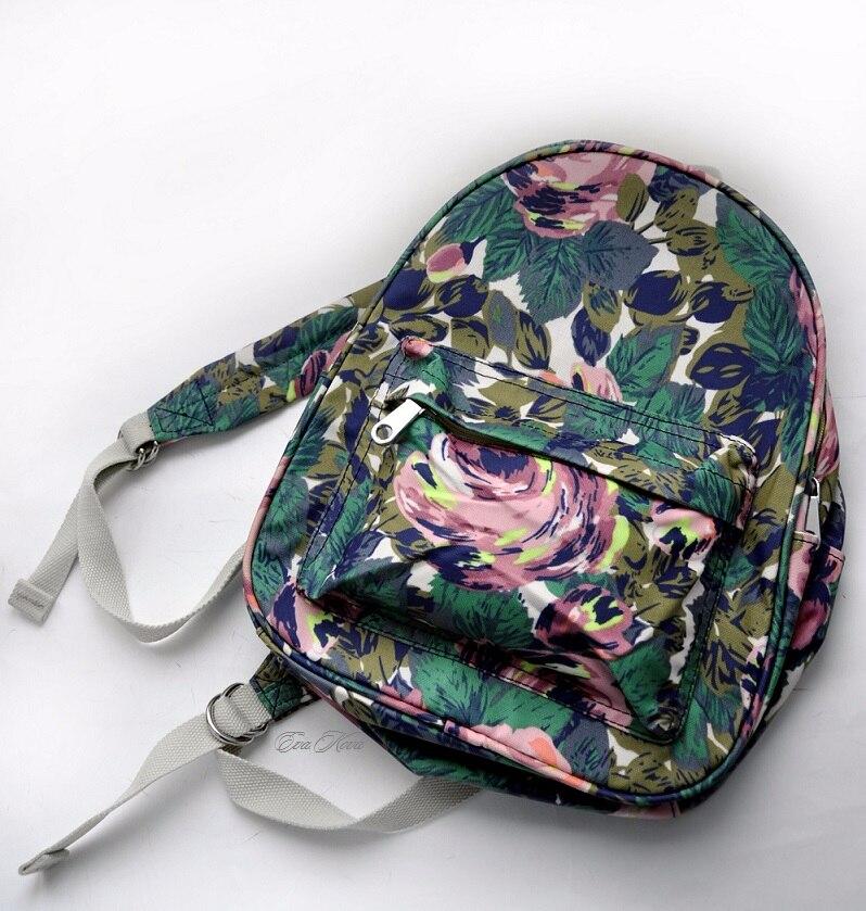 Рюкзак с цветочным принтом с Алиэкспресс