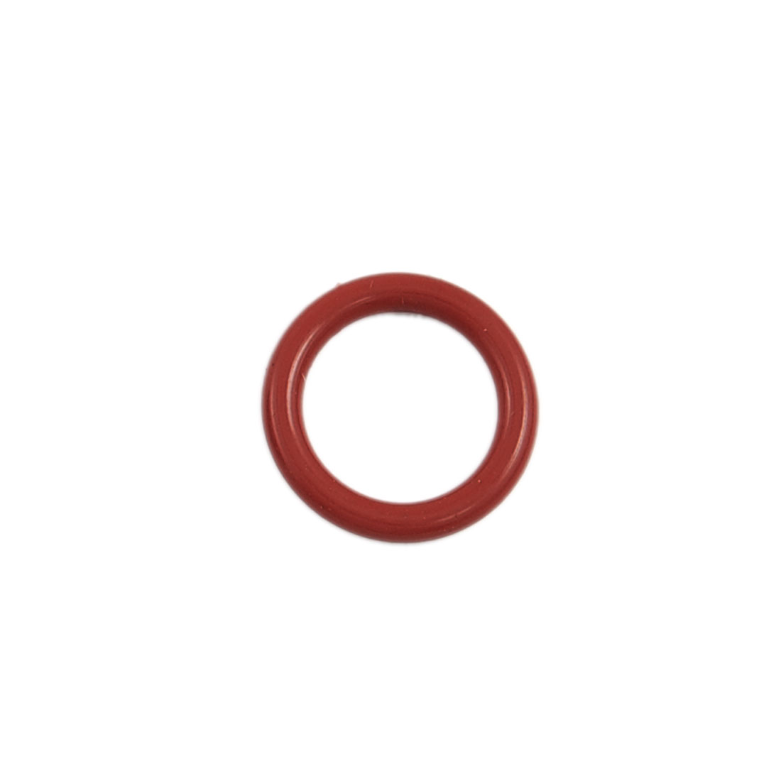 40 Pcs Brick Red Rubber 25mm x 19mm x 3mm Oil Seal O Rings Gaskets Washers