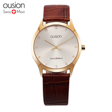 30M Water Resistant Watch Women Plating Quartz Watch Lover's Design Wristwatches Luxury Watch