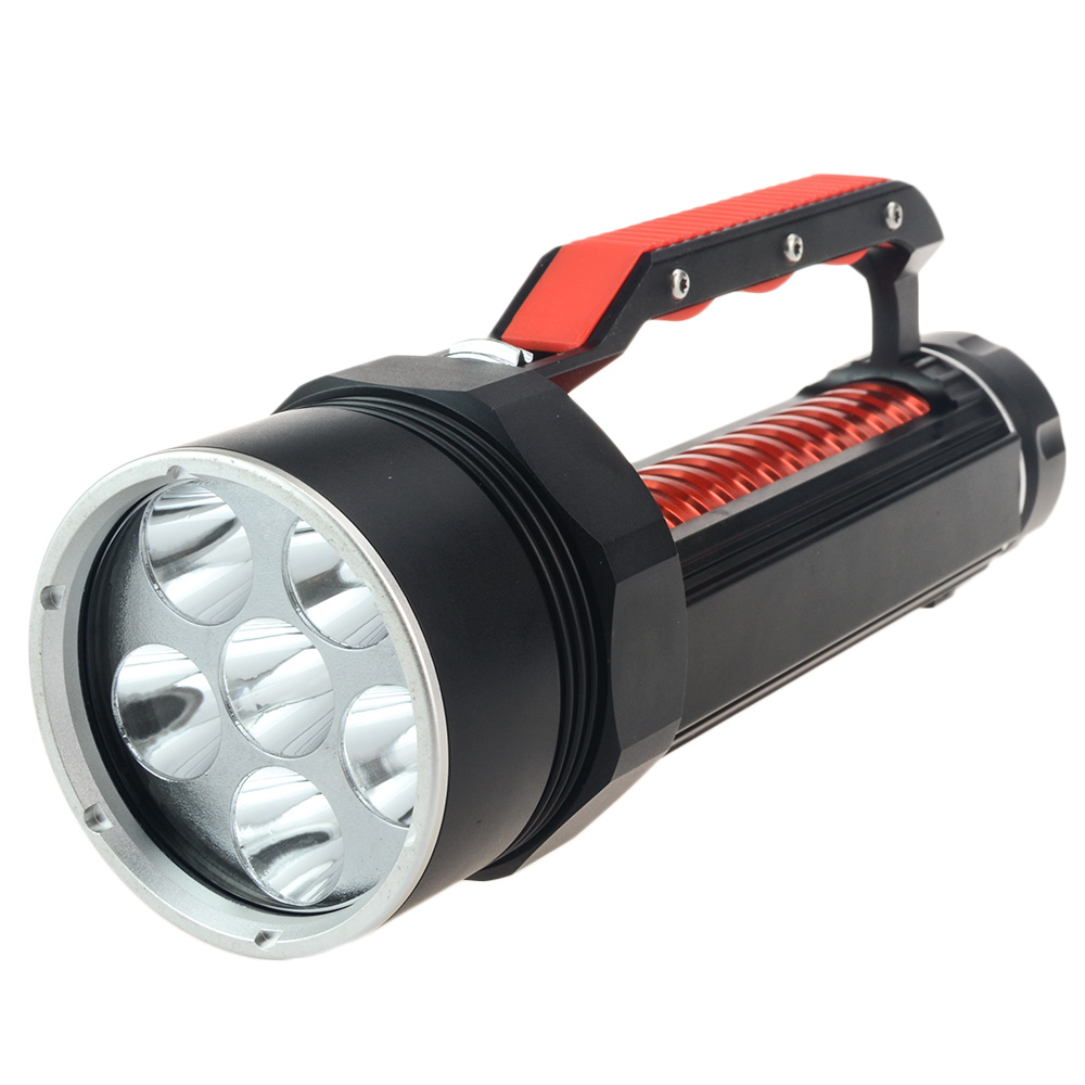 10000 LM 6X CREE XM-L L2 200M Underwater Diving Diver Flashlight Professional LED Diving Torch Waterproof Portable Lamp by 26650 100m underwater diving flashlight led scuba flashlights light torch diver cree xm l2 use 18650 or 26650 rechargeable batteries