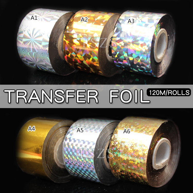 1 roll/lot Nail Art Transfer Foil 17 Colors Sticker for Nail Tip Decoration hot sale 20 sheets lot 20 4cm nail art transfer foil floral serial sexy black lace pattern nail sticker foil material diy wy188