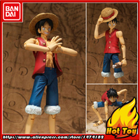 100% Original BANDAI Tamashii Nations S.H.Figuarts (SHF) Action Figure Monkey D. Luffy from ONE PIECE