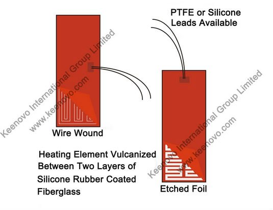 Силиконовый нагреватель облицовка площадка/коврик/настил/Накладка коврик, автомобильный топливный фильтр нагреватель, дизельное топливо, электрического нагревательного элемента 12V 200 W, гибкий Нагревательный элемент, Термальность коврик/Pad