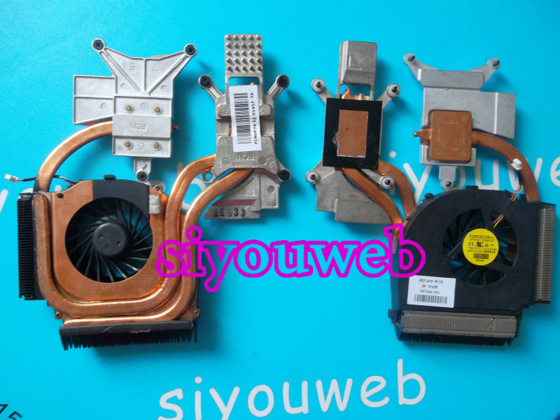 Original CPU Cooling Fan & Heatsink for HP Pavilion DV7 DV7-3100 DV7-3000 DV7-3085 laptop  *FREE SHIPPING* for asus u46e heatsink cooling fan cooler