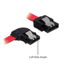 30 センチメートルストレート左側に角 6 ギガバイト/秒 SATA3 シリアル ATA データケーブル pc 用ラッチ SATA 3.0 SATAIII 6 5gbps のハードドライブのディスク/SSD
