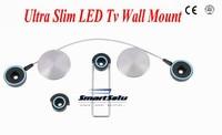 Extra Slim 2014 LED Bracket 40 55 Tv Mount LED Tv Wall Bracket Tv Holder Free Shipping