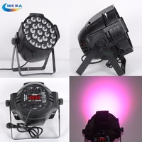 4 pcs/lot LED par light 24*18W RGBWA UV 6 in 1 led projector for Dj light stage lighting disco lights event Party