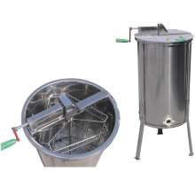 whole body stainless steel 3 frames manual honey extractor machine with legs