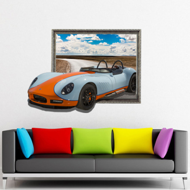 Removable Car Decoration Wall Stickers Home Decor Modern Traffic For Wall Decor Wall Decals 3d Wall
