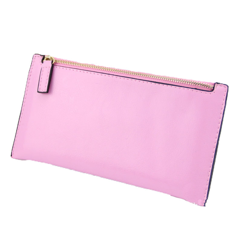 More Colors Women Fashion Genuine Leather Wallets Clutch women s Long Purse 100 Cow Leather