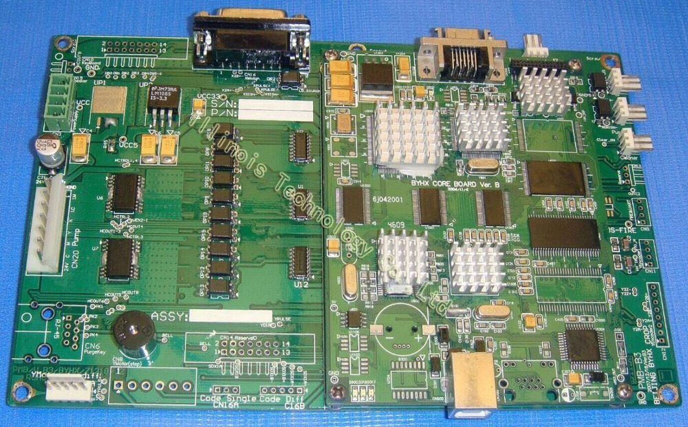 PCB Allwin konica main board printer parts konica512 boards