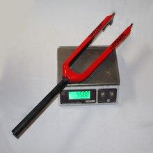 Tapered 3K Black Full Carbon Fork MTB / Carbon Fork 1-1/8