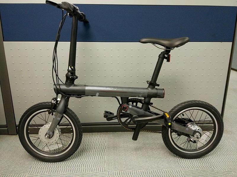 UT8O6HXX34aXXagOFbXd - Unique model Mi Qicycle 20KM/H Foldable Bluetooth 4.zero Telephone APP Monitor sensible Electrical Bicycle With 1.8'' Display bike