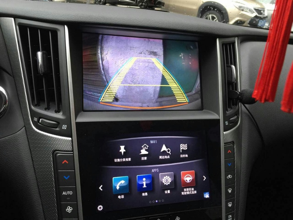 car original Screen to upgrade 2015~ Android 4.2 Car GPS Navigation video interface for  ...