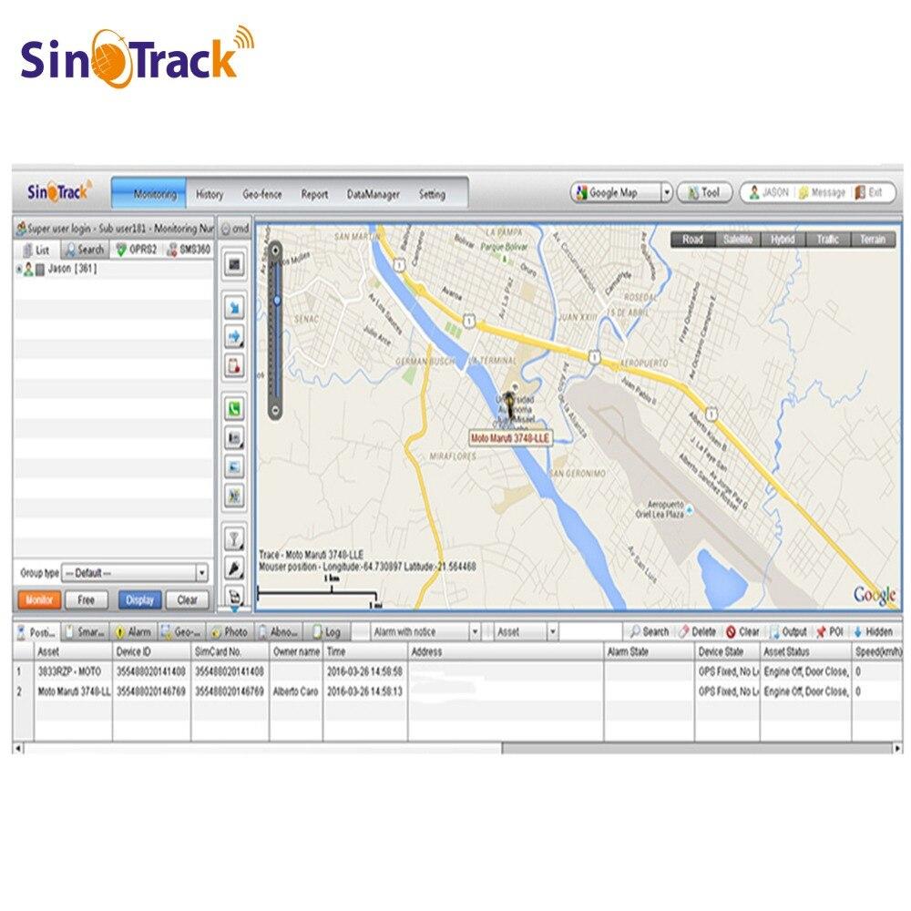 GPS отслеживания разорвать Программы для компьютера Установка и исходный код st-999s www.sinotrack.com