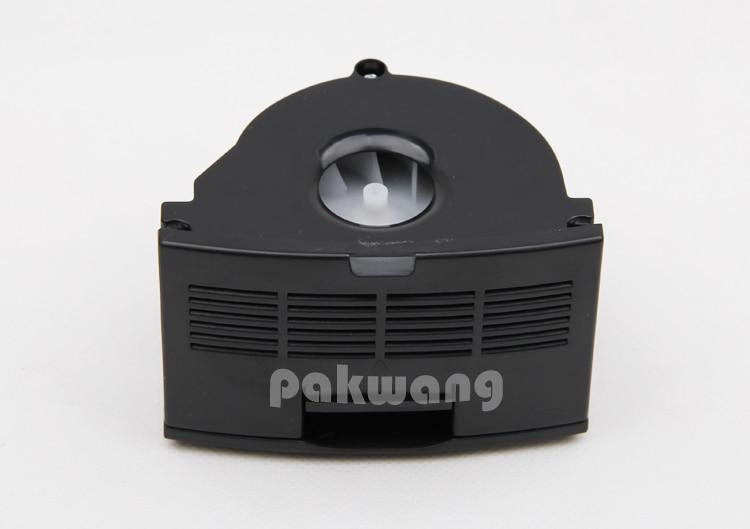 XR510 Dustbin Fan Black 1 pc, Robot vacuum cleaner parts dustbin baby
