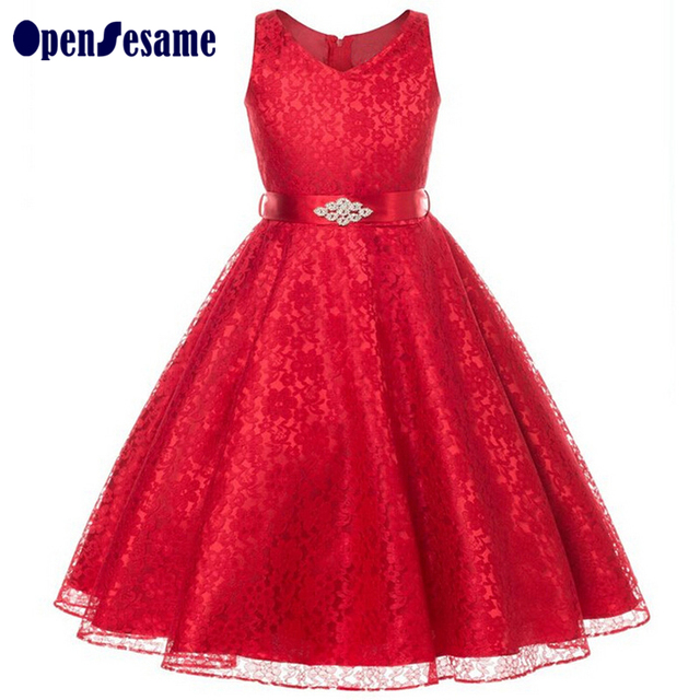 6-15years Autumn girls dresses sleeveless kids dresses for girls clothing cotton princess dresses 6 colors kids clothes costumes