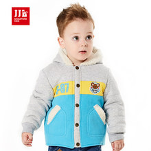 newborn baby jacket winter warm jacket kids baby boy outerwear contrast color baby boy kid s