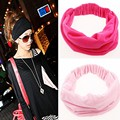 1pcs Wide Cotton Stretch Elastic Sport Beauty Hair Wash Headband Hair Accessories Turban Headwear Bandage Head Hair Band