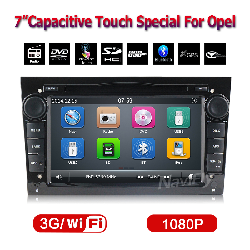 Free Shipping  2 din Car dvd player For OPEL ASTRA VECTRA ZAFIRA  car radio with GPS Bluetooth Free 8GB map card+shipping