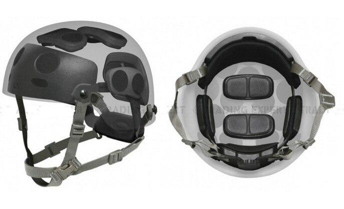 Полный Надежная Защита Шлем Наберите Гильза для БЫСТРОГО MICH Шлем Защиты Костюм Шлем Протектор Комплект Шлем аксессуары
