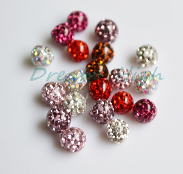 Кристалл язык губы серьги-шарики Ferido Мяч разноцветный металл в середине смолы поверхности 14 Калибр высокого качества нержавеющей