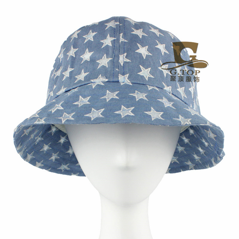 6af07fef257 New denim hats Foldable Ladies jean hat Mountain climbing Tourism hat  sunbonnet
