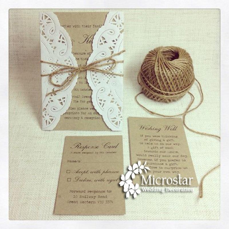 FENGRISE Burlap Jute Twine 50Y Natural Sisal Rope Wedding ...