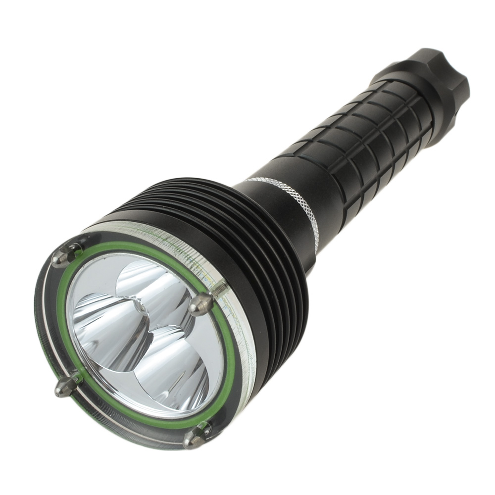 6000 Lumen Led Flashlight for Hunting Camping Diving 3 Cree XM-L2 Waterproof Underwarter Flashlight Torch Lamp by 18650 Battery nitecore hc60 headlamp cree xm l2 u2 1000 lumen headlight waterproof flashlight torch for camping travel