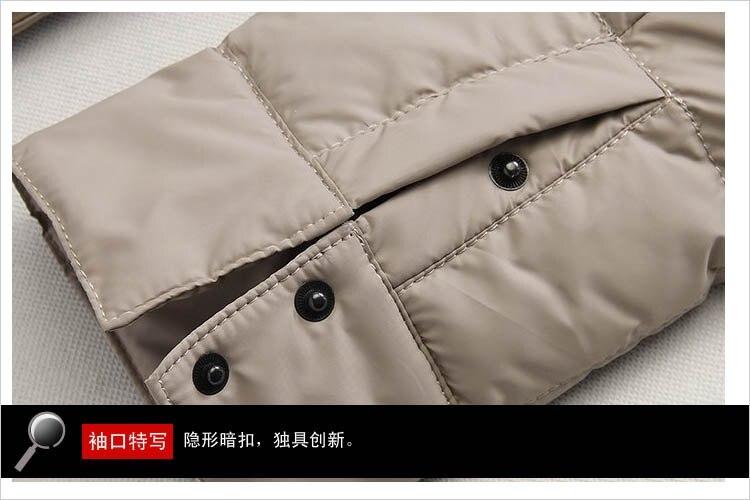 d7cda87e99a Down jacket male cotton men winter autumn winter men orange splice ...