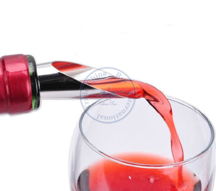 promotional gifts red wine bottel drop stop stopper Plugger reusable pour spout stainless steel promotion gift etc