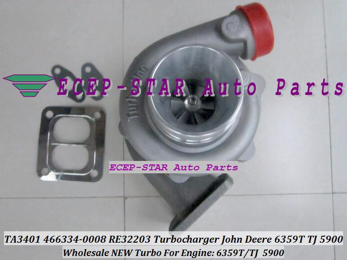 TA3401 466334 466334-0008 RE32203 Turbo turine turbocharger Fit For John Deere 6359T TJ 5900 (4).JPG