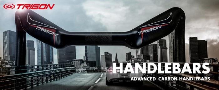TRIGON HB111 ультра легкий полный углеродного волокна mtb горный велосипед стояк руль в форме Ласточки руль из углеродного сплава 660 мм* 90 мм