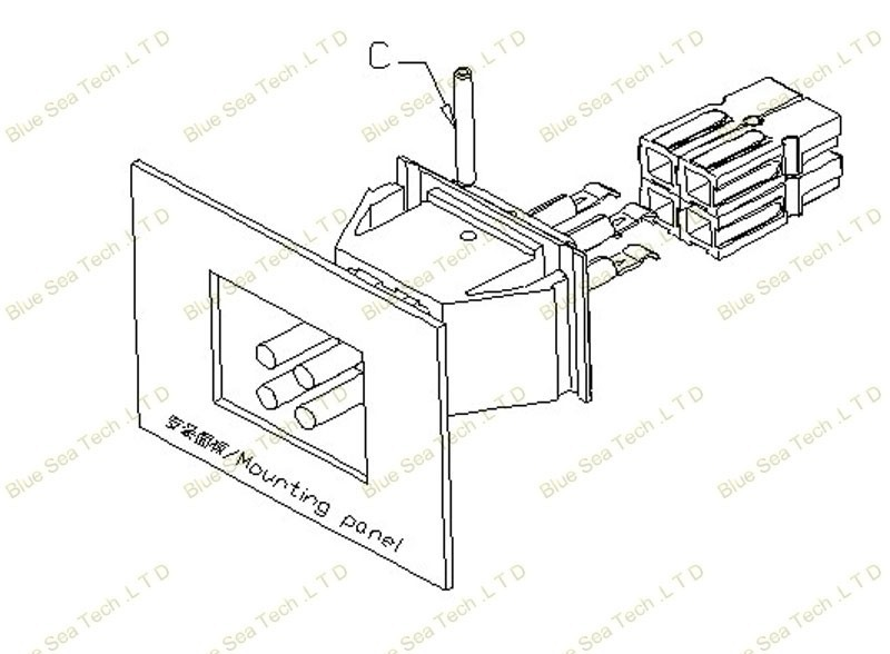 Wire Pcb 30a 600v Power Connector Module