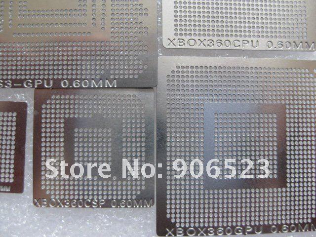 219 шт./компл. новейшие BGA трафареты для прямого нагрева BGA набор для BGA Rework Repair