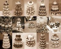 бесплатная доставка 5 уровня круглый + классический кронштейн акриловые пирожне ну вечеринку украшение для свадебного торта стенд