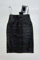 2016 лето мода бинты юбки для женщин сексуальное платье мини тонкий хип карьера дамы ткань знаменитость черный цвет ХЛ 1295